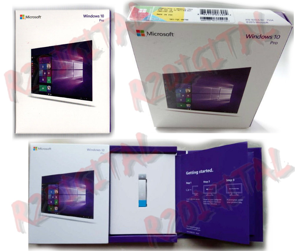WINDOWS 10 PROFESSIONALUSB PACK ITA 64 BIT OEM SOFTWARE